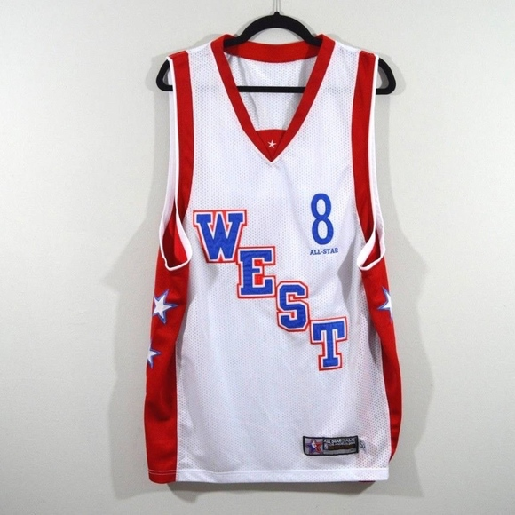 info for 8a4ea 26329 Reebok Kobe Bryant All Star Game West Jersey White