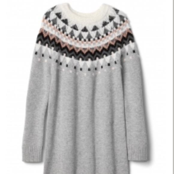 73% off GAP Other - GAP KIDS~Merino Wool Blend~Fair Isle Sweater ...