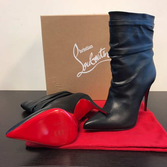 low priced 3eff9 78791 CHRISTIAN LOUBOUTIN Ishtar Leather Bootie Boutique