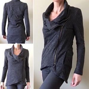 Sweet Rain•Zippered Sweater Jacket