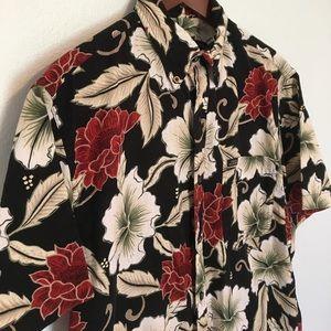 ⭐️Chaps by Ralph Lauren Hawaiian button up