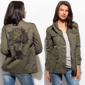 Jackets & Blazers - Last 1! 💕HP 1/19💕Studded Utility Jacket