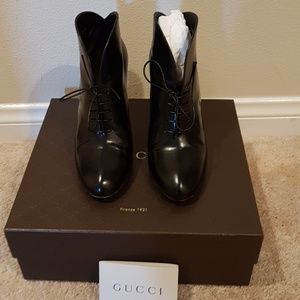 ***Gucci*** lace up booties