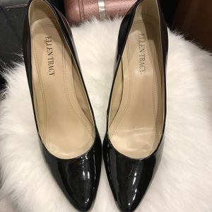 "Ellen Tracy Patent Leather ""Cody"" Pumps"