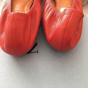 cc5081f1ef0b Lanvin Shoes - NIB Red Lanvin Ballet Flats 40