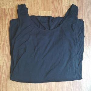 Merona black maxi dress