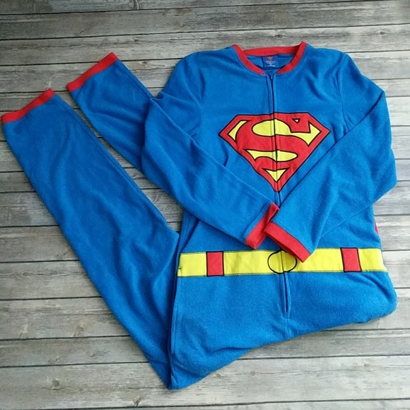75958c667e DC Comics Other - Superman Onesie Pajamas