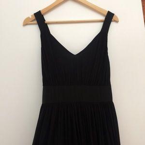 J. Crew Long black dress