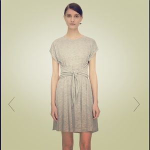 Rebecca Taylor Linen T-shirt Wrap Dress