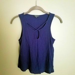 Strappy Chest Detail Tank
