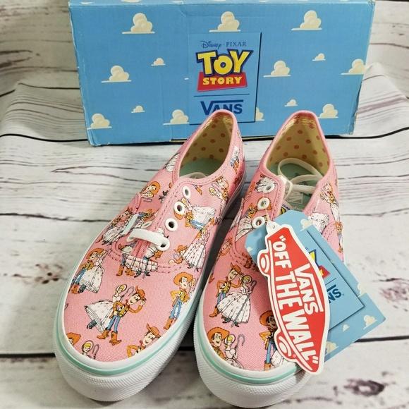 41e9eb06a05422 VANS Toy Story Woody Bo Peep Sneakers