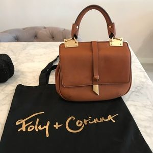 Foley & Corinna Dione Saddle Bag (Cognac)