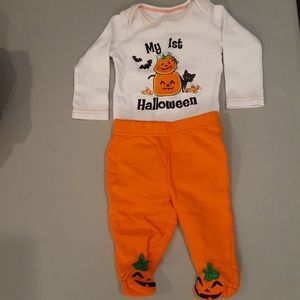 3 month First Halloween outfit