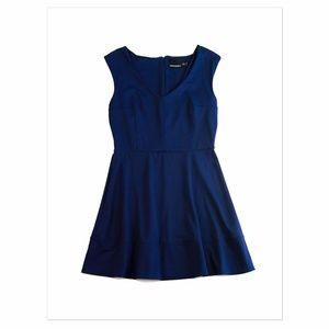Cynthia Rowley Navy Blue Skater Dress L