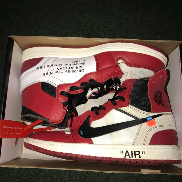 new style 953b4 5988d Off white 1s Reps