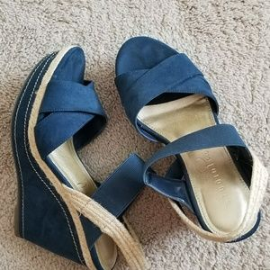 Studio Paolo Navy wedges