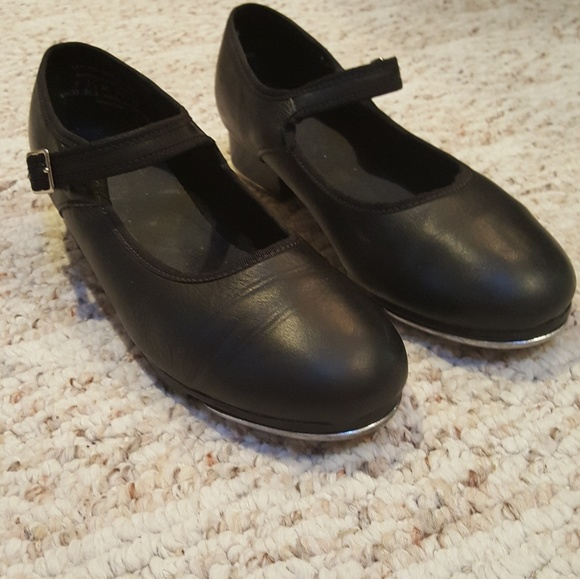 Adult Sizes NIB Capezio Mary Jane Tap Shoe Black