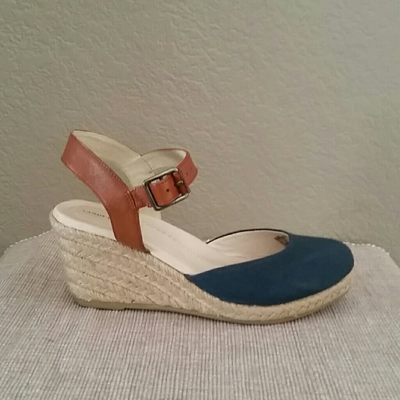 ef35c2ddd70 Land's end Cara closed toe espadrille sandal wedge