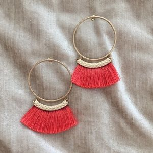 H&M Fringe Earrings