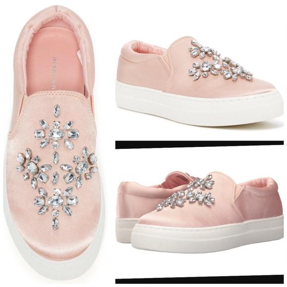 5c03aa9d Madden Girl Shoes | Steve Madden Asherr Sneaker W Rhinestone Sz 75 ...