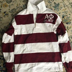 Tops - Vintage Alpha Phi Rugby