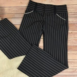 Alice & Olivia Striped Flare Pants