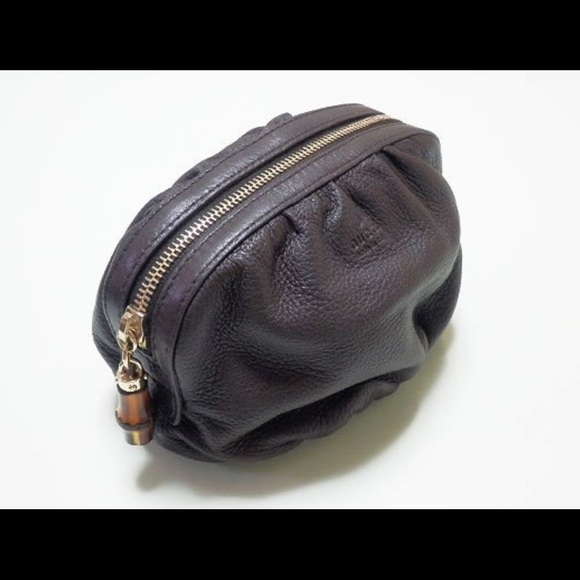 4a0623cf0a6d Gucci Handbags - Gucci Pouch with Bamboo Tassel (series 246175)
