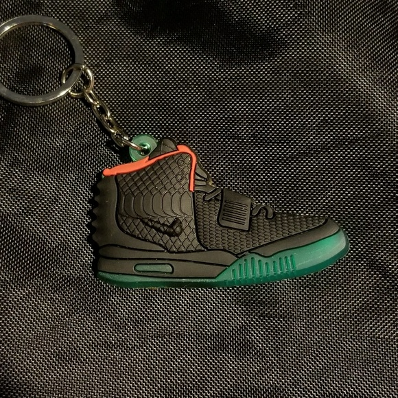 328330c54 Nike Air Yeezy 2 Solar Red shoe key chain