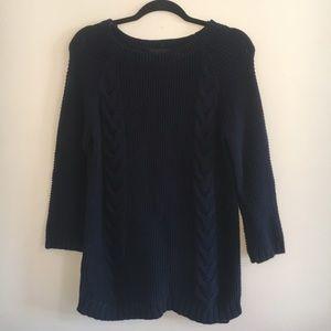 Cynthia Rowley Navy Sweater