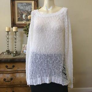 Millau distressed sweater