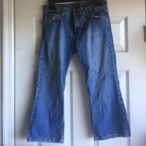 lei jeans size 9 knee knocker poshmark