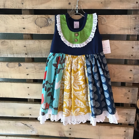 Giggle Moon Other - Giggle Moon-Girls New Song Pixie Panel Dress (NWT)