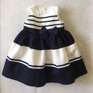 Carter's Sailor Bow Dress