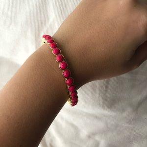 Lilly Pulitzer pink bracelet