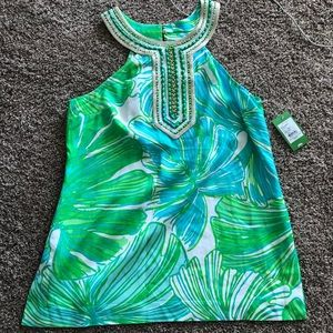 LILLY ADELINA TUNIC - FRONDS PLACE - L - NWT