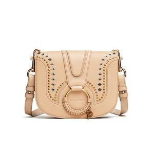 See By Chloe - Beige studded Hana bag