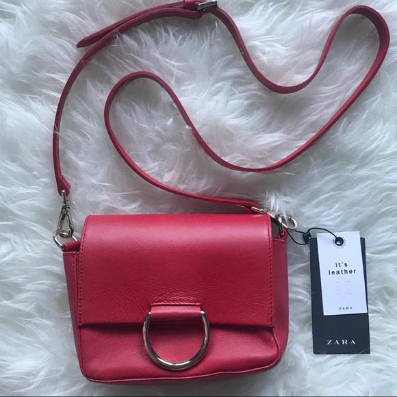Zara Bags   Authentic Leather Mini Crossbody Bag   Poshmark fb5858c77c
