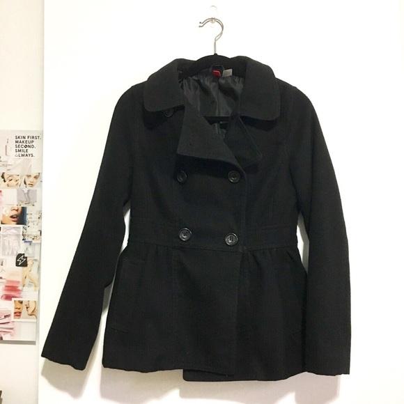 H&M Jackets & Blazers - H&M peacoat