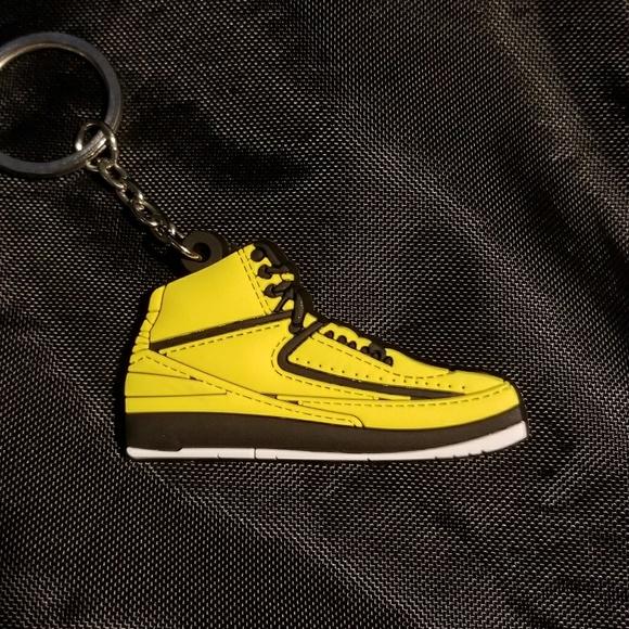 Mens Air Jordan 2 Retro QF Yellow shoes