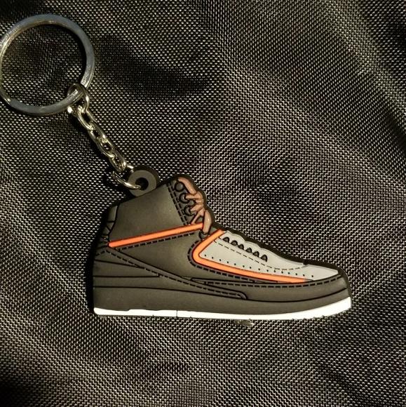 the latest 12ce8 96c6e Jordan 2 Retro shoe keychain. Boutique. Air Jordan