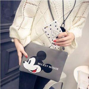 Handbags - Disney Vegan leather Mickey Mouse Handbag NEW