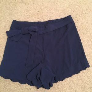 Papaya navy blue shorts, size M.