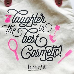 Benefit Bags - NEW!  Benefit Cosmetics Canvas Tote
