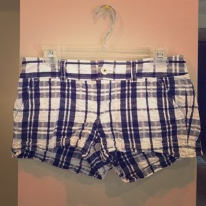 Lilly Pulitzer Plaid Shorts