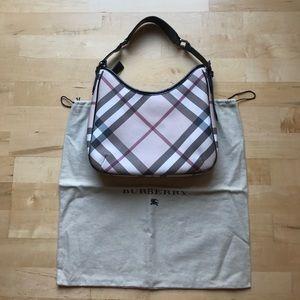Authentic Burberry nova check handbag purse hobo