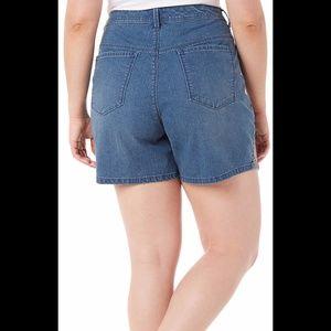 danica-blue-jean-shorts