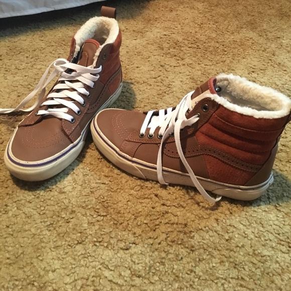 78ac72b521 Vans Shoes - SK8-Hi Weatherized Vans