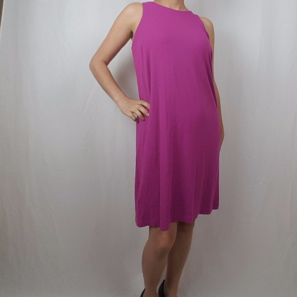 Ann Taylor Dresses & Skirts - ANN TAYLOR pink sleeveless DRESS size medium
