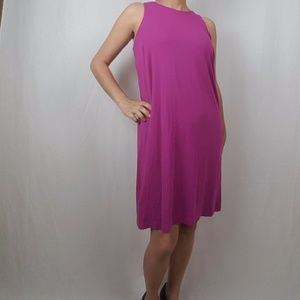 Ann Taylor Dresses - ANN TAYLOR pink sleeveless DRESS size medium