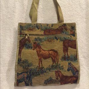 Handbags - Cute bag with horse design